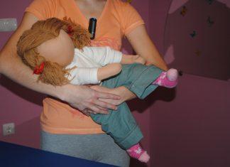 Držanje dojenčka