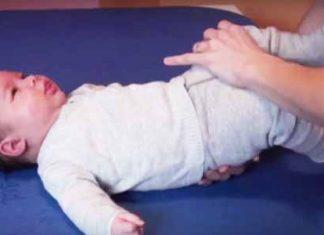 Dvigovanje dojenčka
