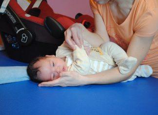 Pravilno obračanje dojenčka