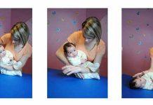 Polaganje dojenčka