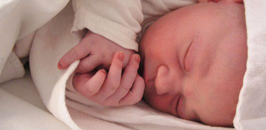 Novorojenček.