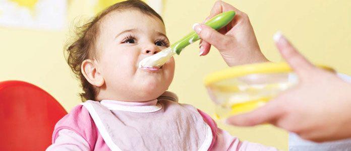 Primeri dnevnih jedilnikov dojenčka