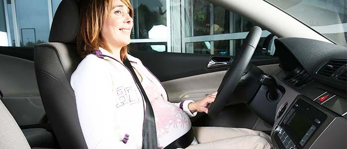Varnost bodoče mamice in otroka v prometu