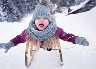 Zimska radost.