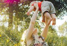 dvigovanje in nosenje otrok