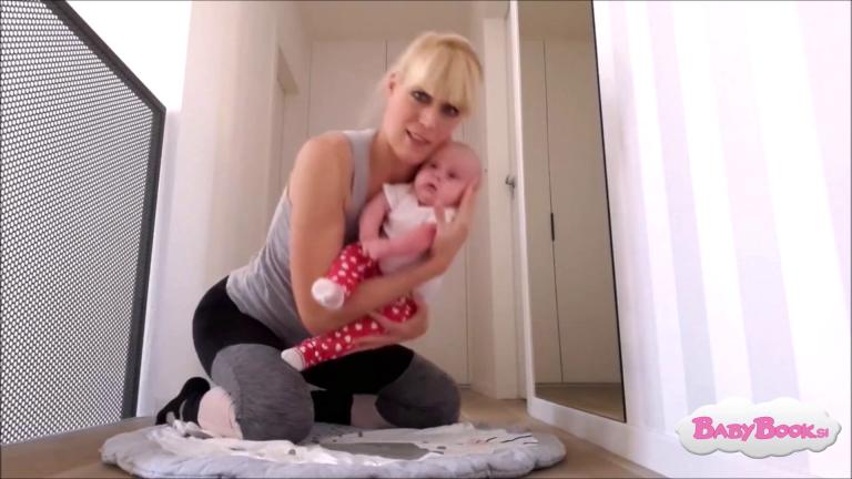 Pravilno rokovanje dojenčka ob pravilni drži mame