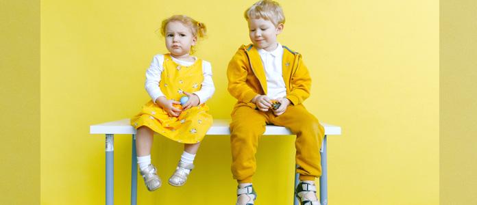 Izbira obutve in razvoj otrokovega stopala